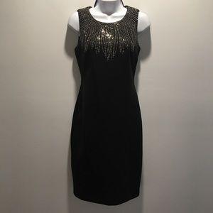 Calving Klein Black Dress